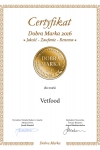 Prestigious award for the brand VETFOOD - emblem